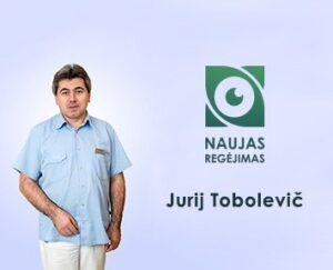 oftalmologas Jurij Tabolevic